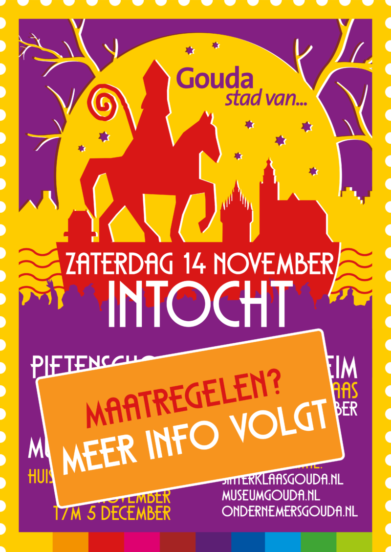 Poster Intocht 2020 (Pre-aankondiging)