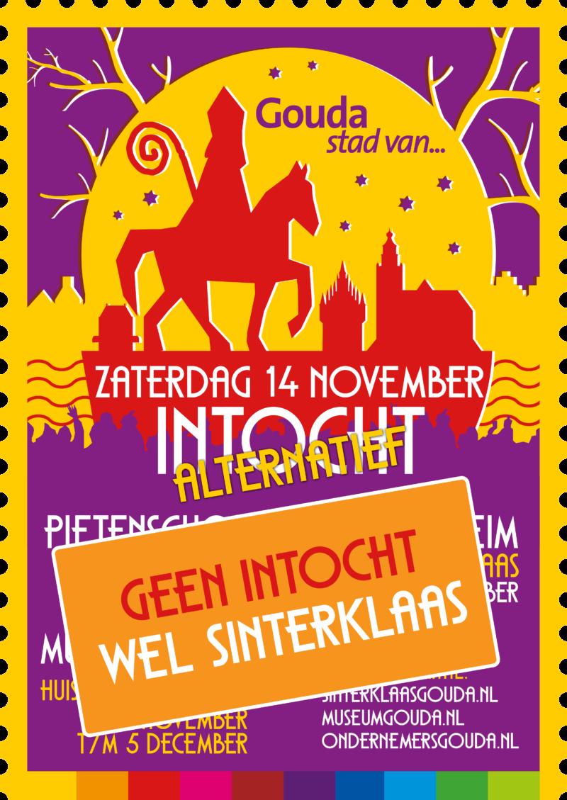 Poster Sinterklaasintocht 2020 (Alternatief)